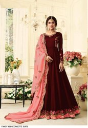 Fox georgette gowns