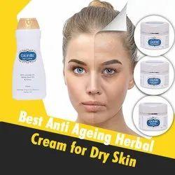 Ayurvedic Anti Ageing Cream for Dry Skin, Packing: Bottle