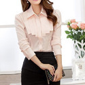 Plain Party Wear Formal Ladies Top, Size: Small