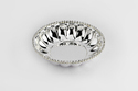 Silver Plated Big Crystal Bowl (D-20)-FB1028