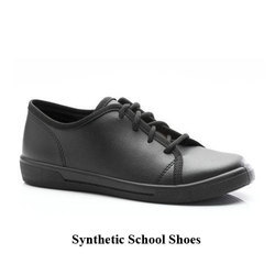Boy Black Lace School Shoes, Size: 11 UK/ Ind and 9