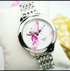 Gold tisssot Tissot Ladies Watch, Model Number/Name: Ghg