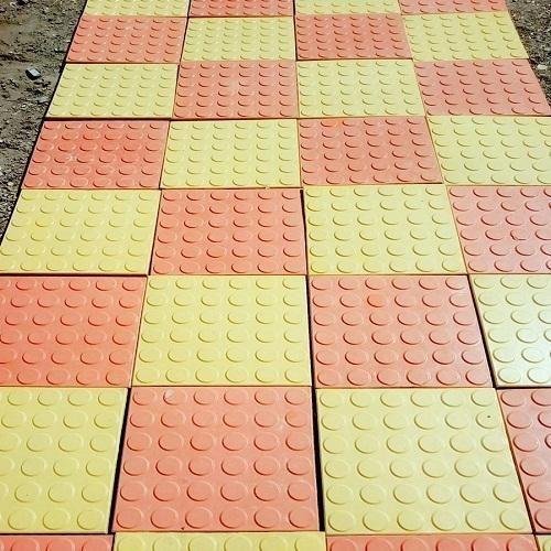 Anti Slip Dotted Tiles