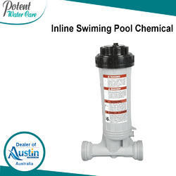 Inline Swimming Pool Chemical Dispensers