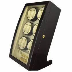 Luxury Wooden Leatherite Watch Winder (12.4)