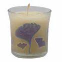 Printed Glass Jar Candles