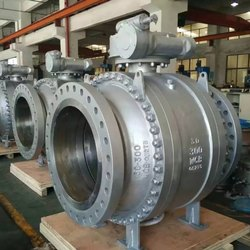 Trunion Mounted Ball Valve