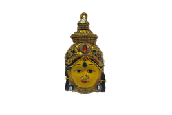 Amman Devi Face Decorated 7 inches