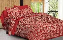Handloom Cotton Bed Sheets