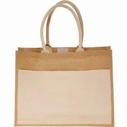 Jute Bag With Pocket