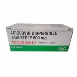 Aciclovir Dispersible Tablets IP 800 Mg