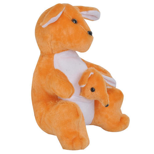 Kangaroo With Baby Set Soft Toy For Kids