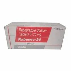 Rabeprazole Sodium Tablets IP 20 Mg