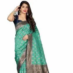 Soft Krystal Weaving Silk Saree
