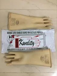 Natural Latex Electrical Rubber Gloves