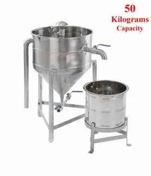 25 Kgs Capacity Commercial Rice Washer / Rice Cleaner