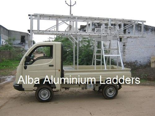 Auto Trolley Tower Ladder