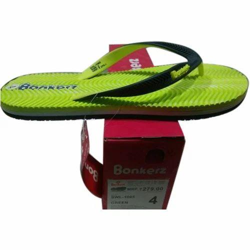 Bonkerz Rubber Comfort Flat Slipper
