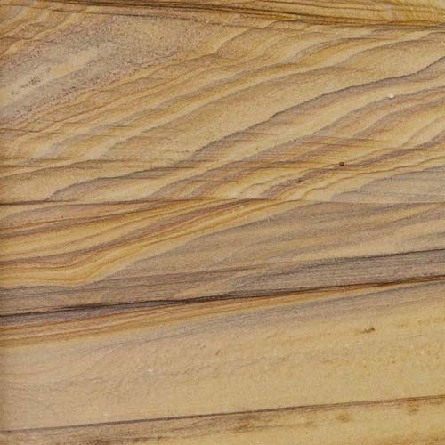 Brown Polished Sandstone Slab, Thickness: 20-25 Mm, for Flooring