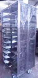 1800MM SS Storage Trolley, 10, 4
