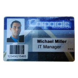 Plastic Office Id Card Printing Service