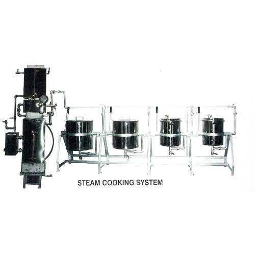 Stainless Steel Steam Cooking System