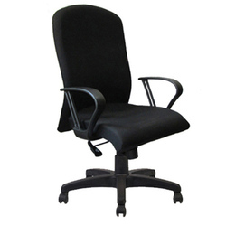 Executive Chair Fabric Staff Revolving Chair, Rotatable: Yes