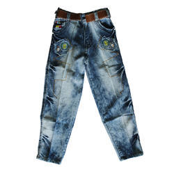 Embroidered Kids Jeans