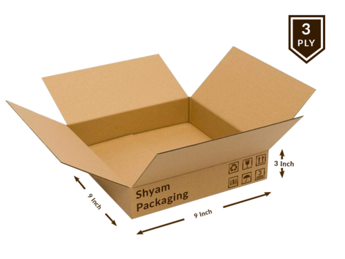 Corrugated Box - 3 Ply (Single wall)