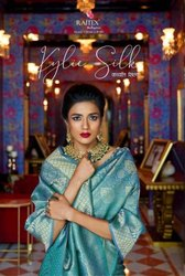 Textile Mall Presents Rajtex Kylie Silk Saree Catalog Collection