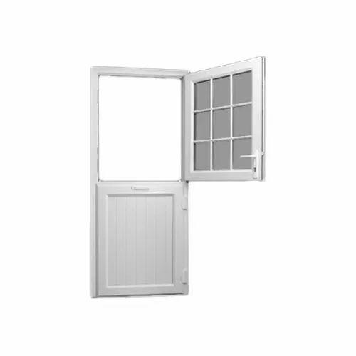 White UPVC Toughened Glass Window & Doors