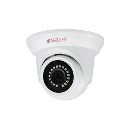 Day & Night 2.4 MP Securus CCTV Dome Camera for Security