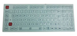 Stud Based Rigid Membrane Keypad
