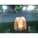 Yellow Floating Dome Fountain