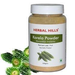 Natural and Vegan Bitter Gourd (Momordica Charantia) Powder 100 gms
