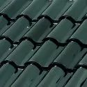 Flat Tile Green Metalic Lead Roof Tiles, Features: Quick And Essay Install