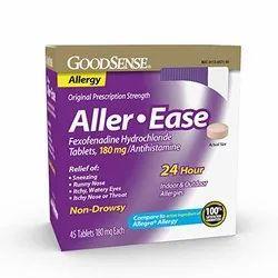 Aller Ease Fexofenadine Hydrochloride Tablets
