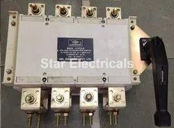Manual 800 A - 4 Pole Onload Changeover Switch - HPL SOCOMEC PVT LTD