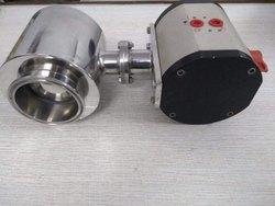 SS Pneumatic Operated TC End Ball Valve