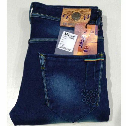 c9e34a6372e Le Dot ,Plain Mens Dark Blue Jeans, Rs 625 /piece, Spocky (A Product ...