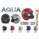Aqua Open Face Helmet