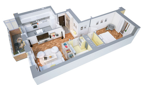 Bedroom Floor Plan
