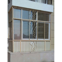 Iron Balcony Covering Grill