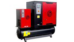 Automatic Three Phase Rotary Screw Air Compressors - Chicago Pneumatics