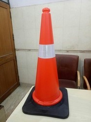 3.2 Kg Traffic Cone With Rubber Base