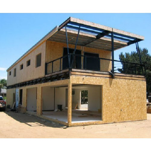 Mild Steel And FRP Prefab Portable House