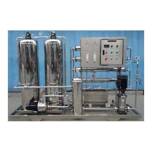Mild Steel Domestic Reverse Osmosis System, 200-500 (Liter/hour), Features: UV Fail Alarm