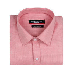 Pink Full Sleeves Formal Shirt