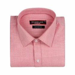 Pink Full Sleeves Formal Shirt