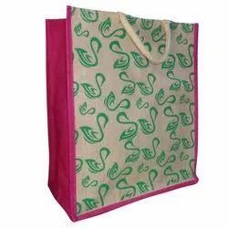 Printed Jute Grocery Bag